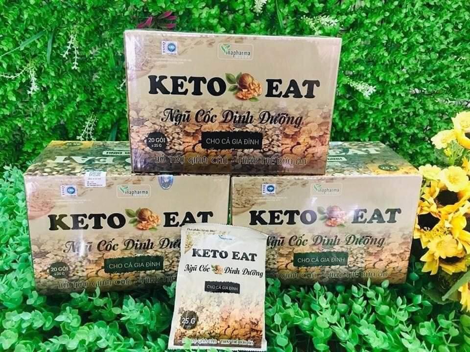 Ngũ cốc dinh dưỡng Keto Eat