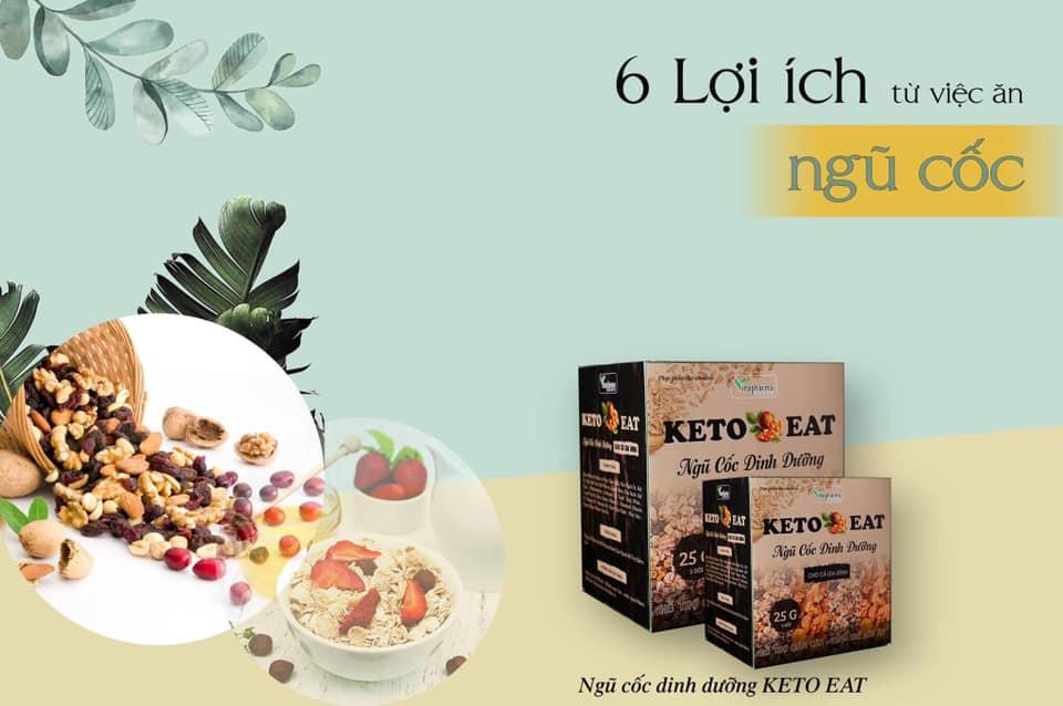 Ngũ cốc dinh dưỡng Keto có tốt không? Có nên sử dụng ngũ cốc dinh dưỡng Keto?