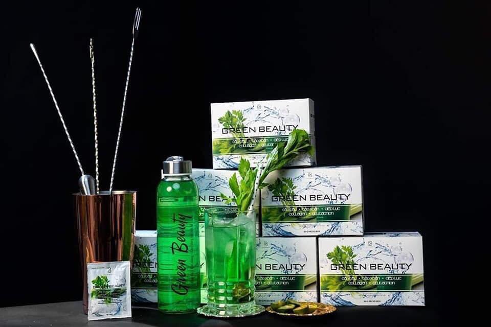Tác dụng chính của nước ép Cần Tây Green Beauty